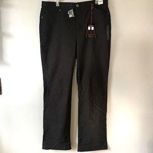Simon Chang Denim Dress Pants Women's US 16